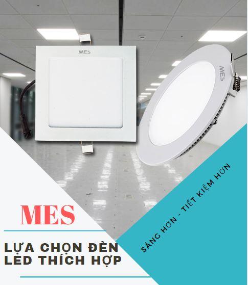 Đèn led Mes gợi ý chọn đèn led