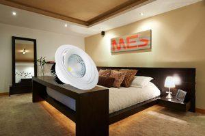 đèn led phù hợp với phòng ngủ