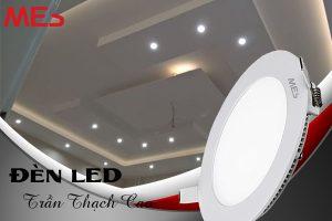 Đèn LED âm trần thạch cao