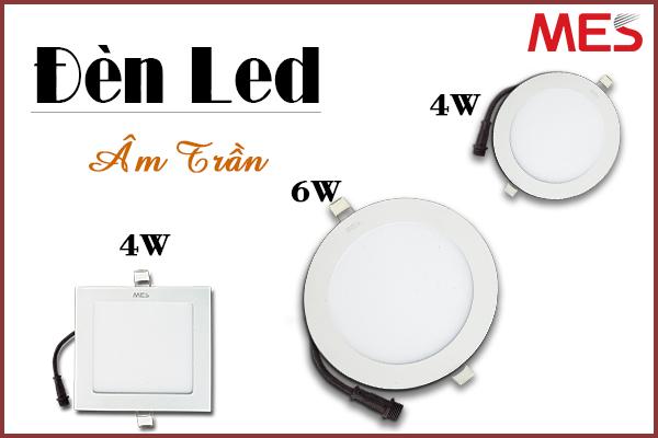 Top 3 mẫu đèn led âm trần kích thước nhỏ tốt nhất 2020