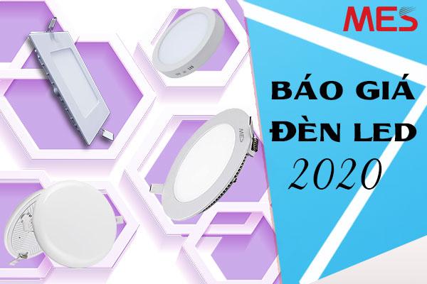 Báo giá đèn led mới nhất 2020