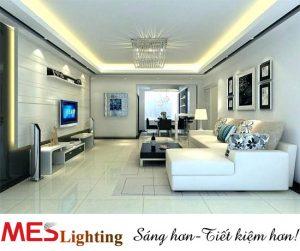 Đèn led chiếu sáng phòng khách