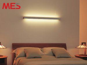 đèn led thanh ốp tường 2 mặt chiếu