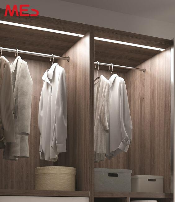 Đèn led thanh cho tủ quần áo