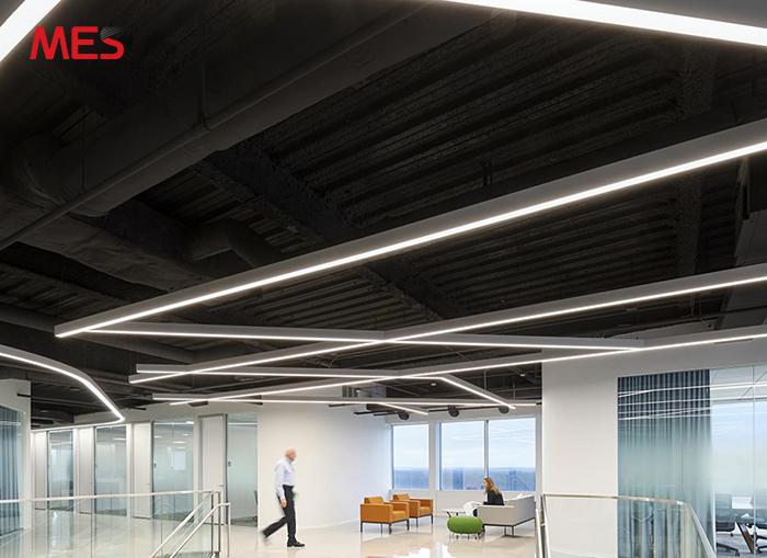Đèn led thanh thiết kế cho văn phòng